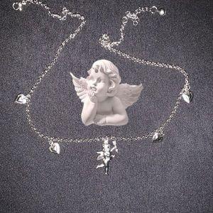 Angel aesthetic choker 90s 2000s Y2K